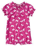 Трикотажный песочник для девочки  3-6, 6-12 месяцев