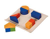Развивающая игрушка Plan Тoys Забавные геометрические фигуры (5648)