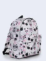 Рюкзак с принтом Котики в очках