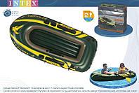 """Надувная лодка Intex """"Sea Hawk 2"""" Set 68346 (236х114 см), фото 1"""