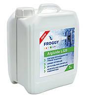 Algicid L220, 5 л средство против водорослей, грибков и бактерий. Химия для бассейна FROGGY™