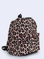 Рюкзак с принтом Леопардовая расцветка