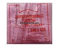 Пакет майка 240*420 (100 шт)