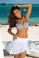 Кокетливая пляжная юбка