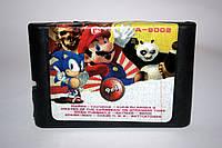 Картридж для Sega 9в1 Марио Танчики  Kung Fu Panda 2