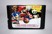Картридж для Sega 9в1 Марио Танчики  Kung Fu Panda 2, фото 1