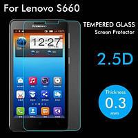 Защитное стекло для Lenovo S660 - HPG Tempered glass 0.3 mm