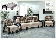 Комплект мягкой мебели  Атлант андре кор.   Мебель-Сервис