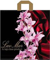 """Пакеты полиэтиленовые типа петля  """"Орхидеи"""" 45x43(46) ПВД (уп-20шт)"""