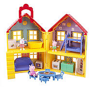 Домик Свинки Пеппы с фикурками Пеппа, Джорж и Сьюзи (Peppa Pig's Deluxe House)