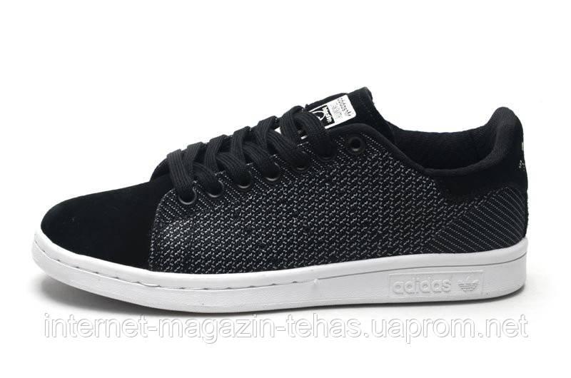 Кроссовки Женские Adidas Stan Smith Original Black — в Категории