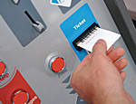 Электронная касса для парковочной системы Came Barcode