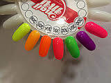 Гель лак My nail 9 мл малиновый с мелким глитером