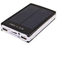 Портативное зарядное устройство с солнечной батареей  POWER BANK SOLAR 25000ma 807, солнечная зарядка