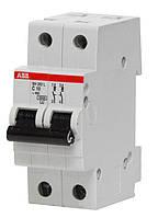 Автоматический выключатель АВВ SH202 2п С 25А