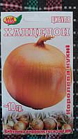 "Семена лука ""Халцедон"" ТМ VIA-плюс, Польша (упаковка 10 пачек по 10 г)"