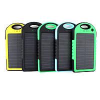 Портативное зарядное устройство с солнечной батареей POWER BANK Solar 20000S, зарядное устройство POWER BANK