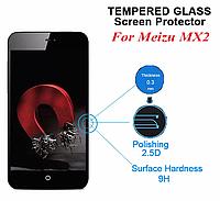 Защитное стекло для Meizu MX2 - HPG Tempered glass 0.3 mm