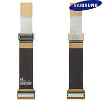 Шлейф для Samsung B5702, межплатный, с компонентами, оригинал