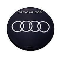 Колпачки для литых дисков Audi 8D0601170 (70/58) черные