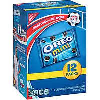 Oreo Chocolate Cookies, Мини-печенье Орео - Коробка - 12 упаковок