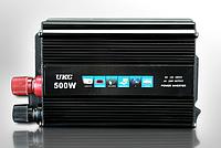 Инвертор напряжения 24-220Вольт 500Вт UKC , фото 1