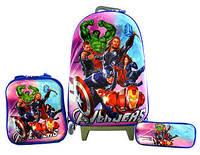Детские дорожные чемоданы на колесах