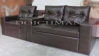 Кожанная мягкая мебель диваны для ресторанов, кафе, баров, клубов на заказ купить у производителя в Украине
