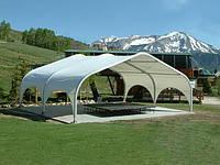 Павильоны, шатры как подспорье. Теневая зона на рабочем месте