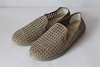 Туфли мужские бежевые, фото 1