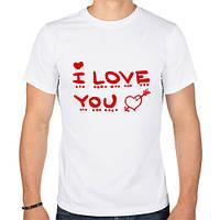 Футболка «I love you»