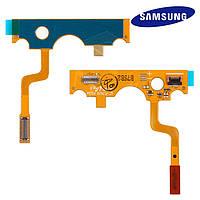 Шлейф для Samsung C3520, межплатный, с компонентами, оригинал