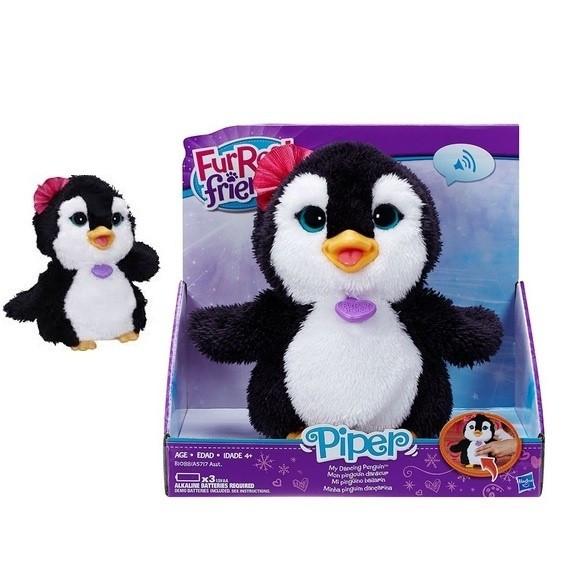 Интерактивная игрушка Hasbro Забавный пингвинчик