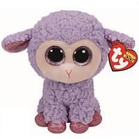 """36171 Мягкая игрушка TY Beanie Boo's ягненок """"Lavender"""" 15см"""
