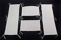Мягкие защитные бортики в детскую кроватку