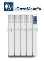 Электрический радиатор (электрорадиатор) «ОптиМакс®» - 4 секции -  480 Вт