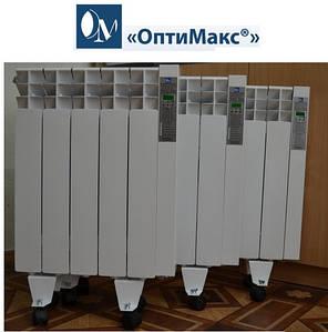 Электрический радиатор (электрорадиатор) ОптиМакс STANDARD - 10 секций 1200 Вт, фото 2