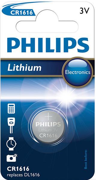 Батарейка литиевая PHILIPS CR1616