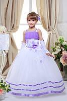 Платье выпускное детское нарядное D701