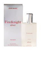 Туалетная вода Fire&Night Silver for men 100 ml