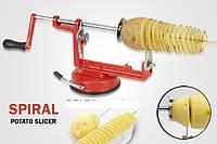 Аппарат для нарезки спиральных чипсо Spiral Potato Chips (Спираль Потейто Чипс) - чипсорезка
