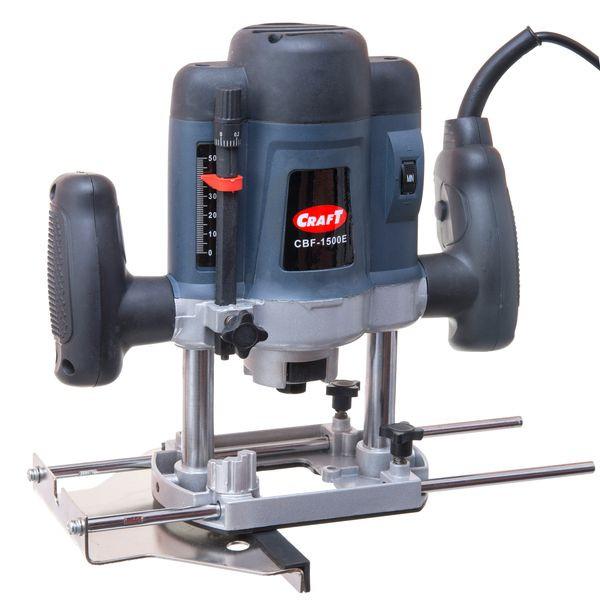 Фрезерная машина Craft CBF 1500E, цанги 6 и 8 в комплекте