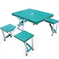 Комплект раскладной мебели стол и 4 стула HXPT-8821-B