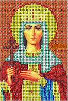 Схема для вышивания бисером икона Святая Ирина КМИ 5125