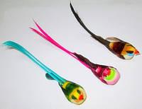 Птички декоративные с хвостиком - 3 шт.