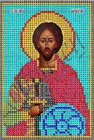 Схема для вышивания бисером икона Св. Александр Невский КМИ 5150