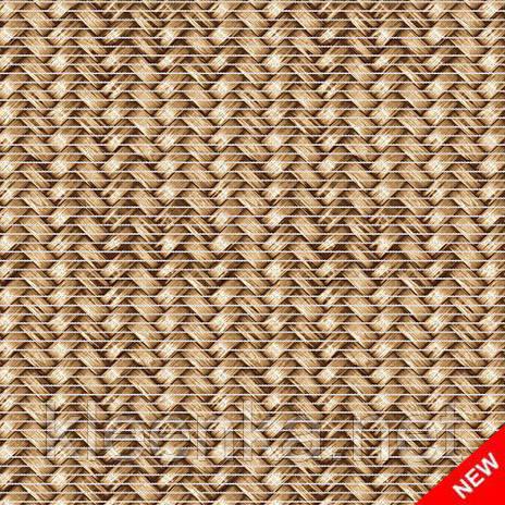 Коврик для кухни и коридора Вязаное плетение, ширина 65 см