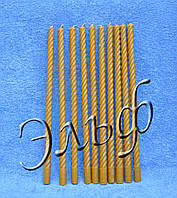 """Свеча из пчелиного воска """"Спираль тонкая средняя 32 см"""", фото 1"""