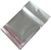 Пакетики для фасовки с клеевым (скотч) клапаном (8х14см)