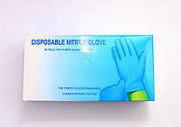 Нитриловые перчатки Disposable nitrile glove S